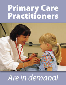 Primary care practitioners are in demand